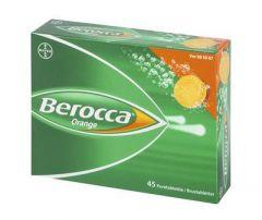 BEROCCA ORANGE poretabl 45 kpl